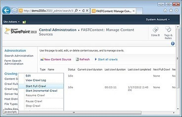Fast Search Server 2010 for SharePoint: Proof of Concept - Part 2: Search - Configuring the connector/Indexing Content - End User - NothingButSharePoint.com | All About SharePoint | Scoop.it