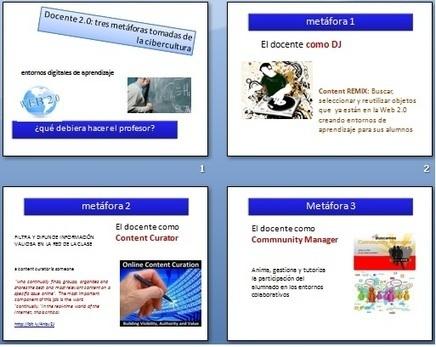 ordenadores en el aula: Metáforas del docente 2.0: DJ, Curator, Community Manager | Aprendizaje en Red | Scoop.it