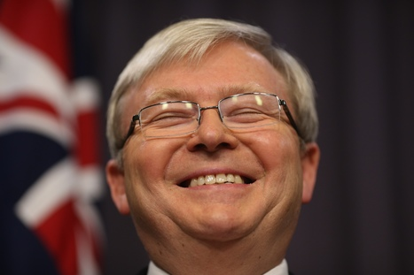 Rudd proving revenge of the nerds is sweet - Illawarra Mercury | Geographical Alarm Clock | Scoop.it