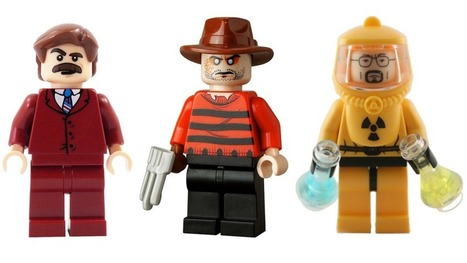 Here are the Coolest Custom Lego Minifigs | All Geeks | Scoop.it