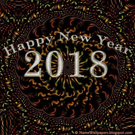 Happy New Year 2018 HD Wallpaper Download