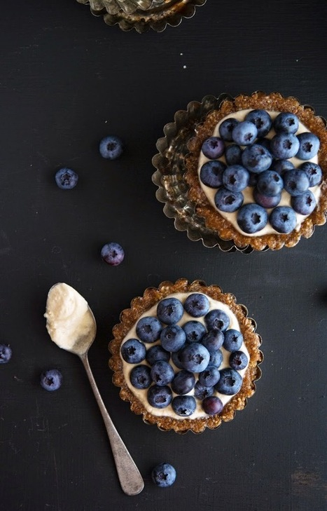 The Iron You - A healthy living blog with tasty recipes: (Paleo) Almond-Berry Tartlets | Healthy Recipes and Tips for Healthy Living | Scoop.it