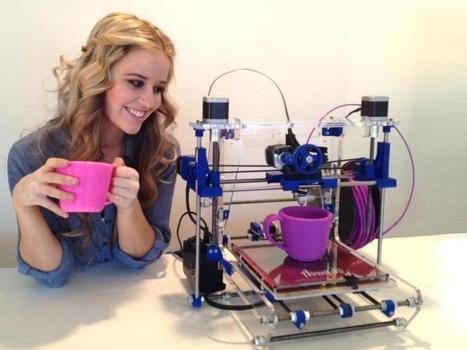 La impresión en 3D, la nueva tecnología disruptiva. - angelbonet.com | tecnología industrial | Scoop.it