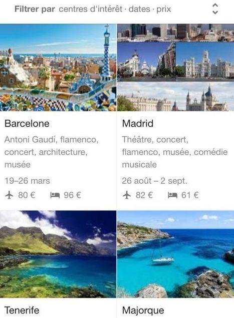 Google Destinations : le comparateur de voyages beau, intelligent (mais pas forcément moins cher) | great buzzness | Scoop.it
