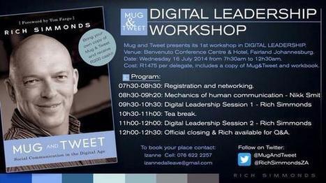 Tweet from @RichSimmondsZA | e-Leadership | Scoop.it