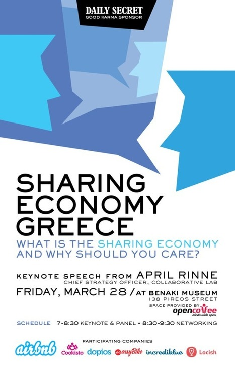 Open Coffee Athens hosts Sharing Economy Greece – What is the ... | Peer2Politics | Scoop.it