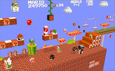 NES Games Rendered in 3D: from Pixel to Voxel | All Geeks | Scoop.it