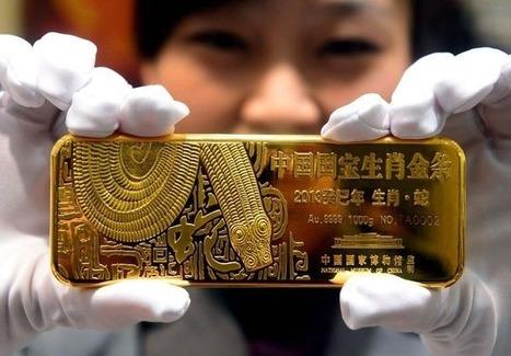 La Chine lance un nouveau marché pour l'or ' Histoire de la Fin de la Croissance ' Scoop.it