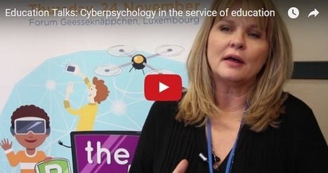 Cyberpsychology in the service of education | Be  e-Safe | Scoop.it