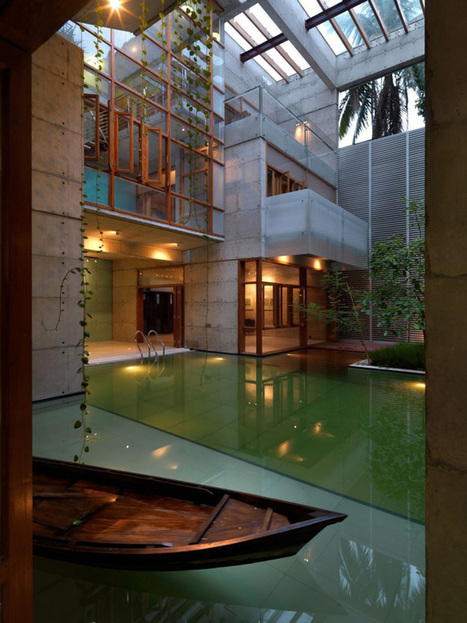 Contemporary SA Residence by SHATOTTO in Dhaka, Bangladesh | DesignRulz | Interior & Decor | Scoop.it