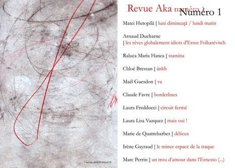 7 juin 2013     N° 1 de la revue Aka   Oeuvres ouvertes   Scoop.it