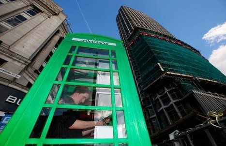 London Phone Booths Find New Lives - New York Times   art   Scoop.it