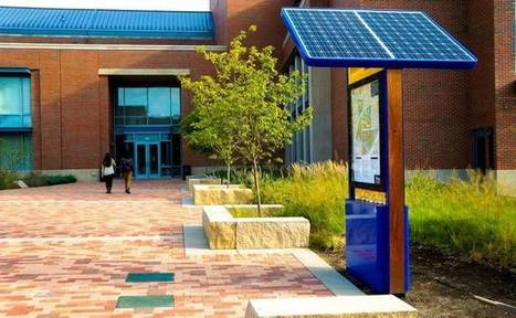 Public charging station powers mobile devices with footsteps and solar panels   Sustainable Communities   Scoop.it