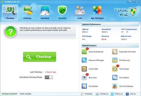 Toolwiz Care | Toolwiz Software | Τάξη 2.0 | Scoop.it