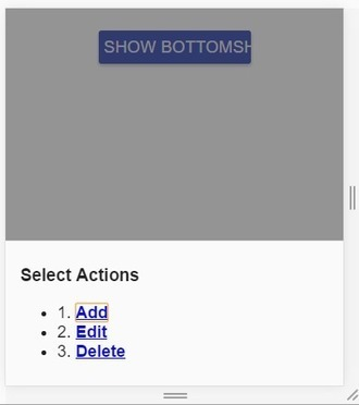 Angular Material BottomSheet pdf' in Online Web Turorials