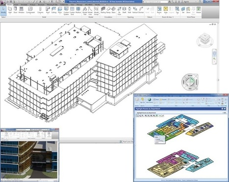 ARCHIBUS Web-based Integration of Facilities Data with BIM Models | Digital Fabrication in Architecture, Engineering and Construction | Scoop.it