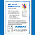 New Year's Word Challenge | Seasonal Freebies for Teachers | Scoop.it