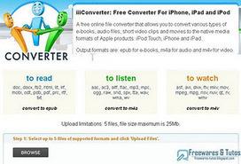 iiiconverter : un convertisseur en ligne dédié aux formats de l'iPhone, l'iPad et l'iPod   Time to Learn   Scoop.it
