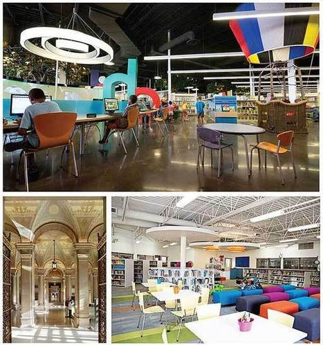 Blue-Ribbon Libraries | Library by Design | Libraries of the Future | Scoop.it