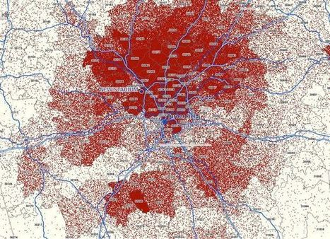 Why the Braves are leaving Atlanta, in one map | HumanGeo@Parrish | Scoop.it