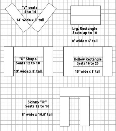 Room layout suggestions with rectangle or mixe - Bedroom layout ideas for rectangular rooms ...