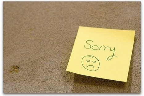 The 3 elements of a sincere apology | Communication Advisory | Scoop.it