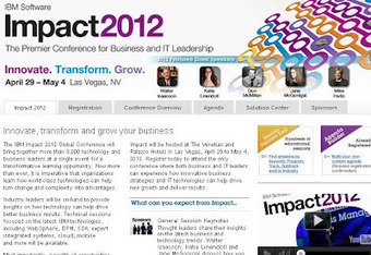 Spark Tech Talk: IBM Impact 2012 Conference April 29th - May 4th in Las Vegas | Social Media & Networking | Scoop.it