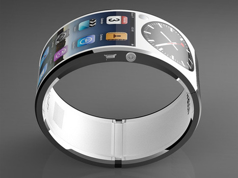 Futuristic iWatch Concept | Gear, Gadgets & Gizmos | Scoop.it