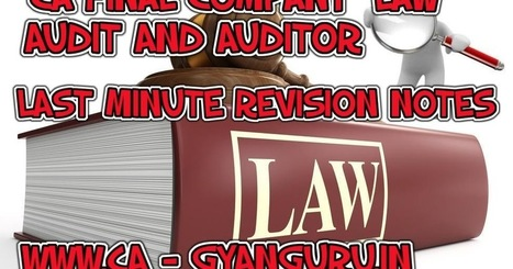 Ca Final Audit Notes Pdf