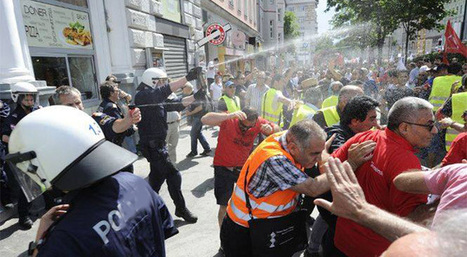 "Viyana'da AKP'lilere biber gazlı müdahale | ""D"" & ""A"" | Almanya & Avusturya | Scoop.it"