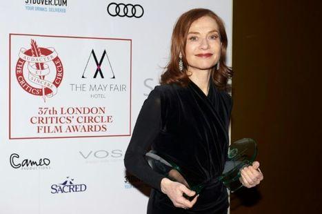 Isabelle Huppert finaliste pour l'Oscar de la meilleure actrice - Libération | Actu Cinéma | Scoop.it