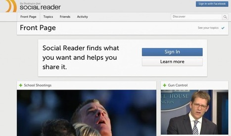 Two Major Facebook Social Reader Apps Shutting Down (Update) - SocialTimes | Social, Music, Entertainment Industry News | Scoop.it