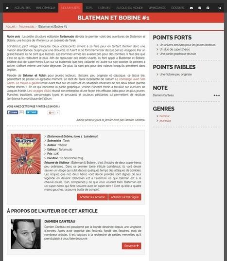 Blateman et Bobine   Bande dessinée et illustrations   Scoop.it