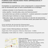 Curso de Formación Financiera para Empresarios y Emprendedores