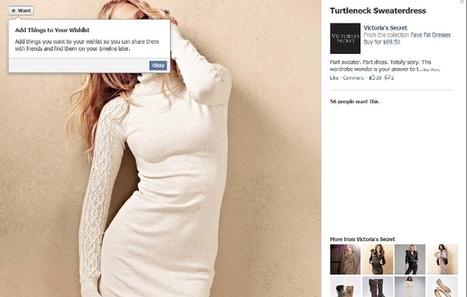 """Facebook : après le """"like"""" voici le """"want""""   Digital Daily   Scoop.it"""