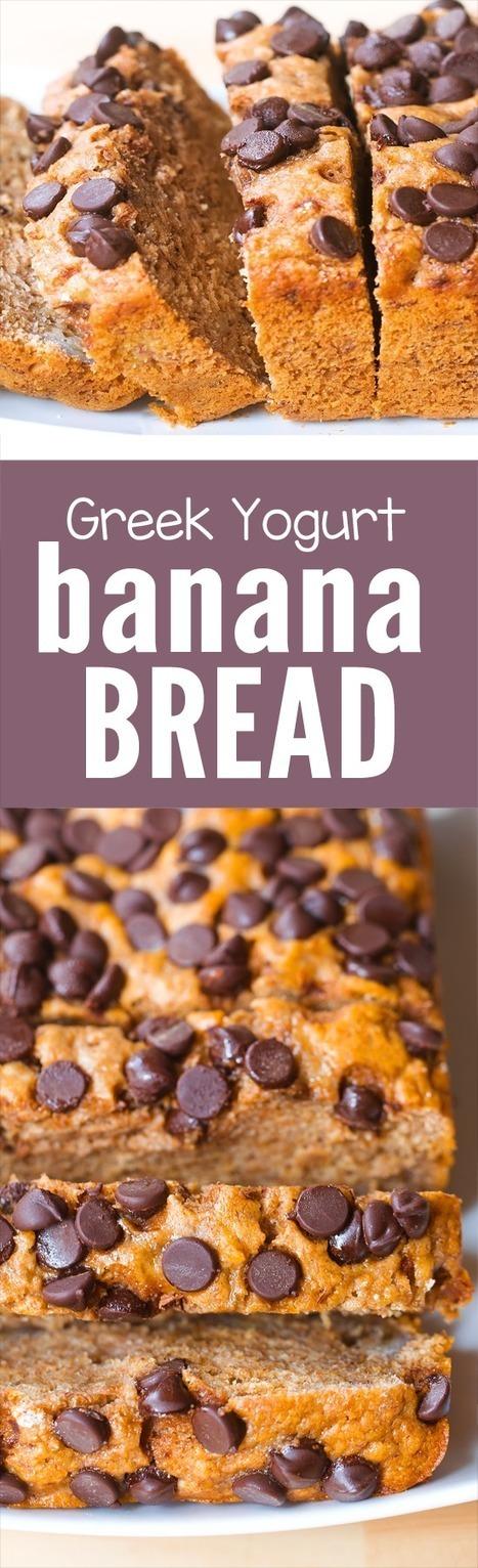 Greek Yogurt Banana Bread (Vegan) | Vegan Food | Scoop.it