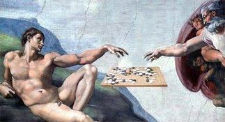 The Creation of Adam (and Go...) | Go Board Game | Scoop.it