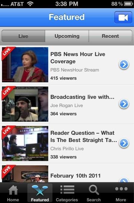 Here's What UStream's Big iPhone App Update Will Include | Mobile Journalism Apps | Scoop.it