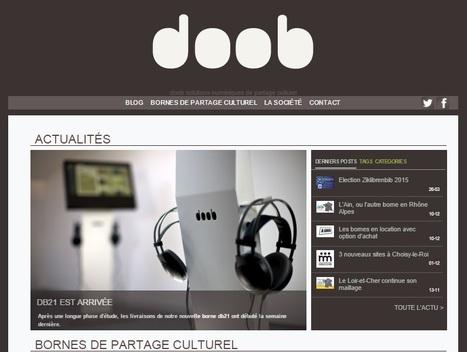 doob : solutions numériques de partage culturel | méli-mélo | Scoop.it