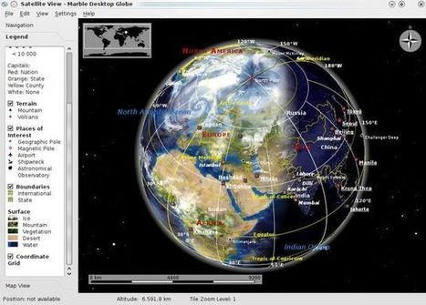 Marble, un atlas virtual educativo y open source que nos recuerda a Google Earth | Historia y Mapas | Scoop.it