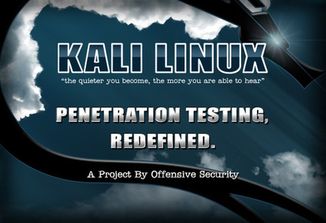 Kali Linux - the most advanced and state of the art penetration testing distribution  available. | ICT Security Tools | Scoop.it