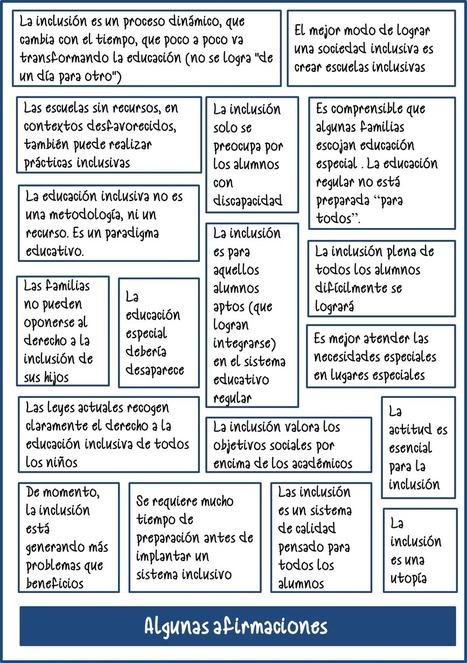 Dinámica sobre la inclusión educativa para docentes   #TuitOrienta   Scoop.it