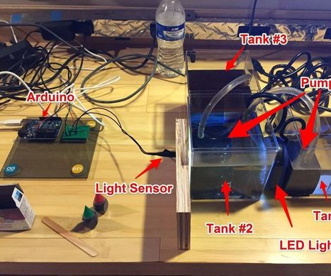 Arduino in the classroom - a simple experiment in measuring and modeling water pollution   Raspberry Pi   Scoop.it