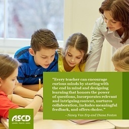» Try This, Not That: Make Over Your Lessons to Promote Student Understanding and CuriosityASCD Inservice | Student Engagement for Learning | Scoop.it