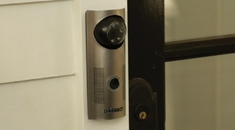 DoorBot.. see who is knocking via your mobile device | scatol8® | Scoop.it