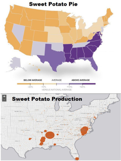 Geography of Thanksgiving | AP Human GeographyNRHS | Scoop.it