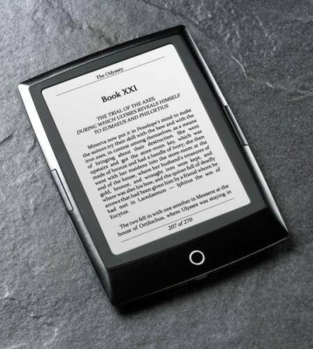 "Bookeen Cybook Odyssey eReader, coming soon - SlashGear | ""ebooks and edevices"" 