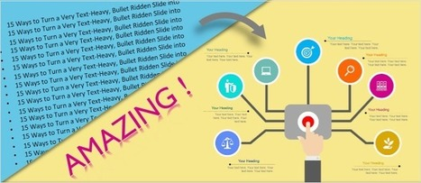 15 Ways to Turn a Very Text-Heavy, Bullet-Ridden Slide into Amazing! [Presentation Hackathon Part 3]   Business and Marketing   Scoop.it