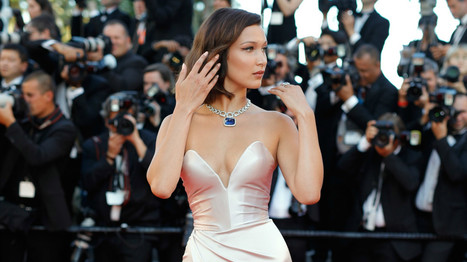Bella Hadid's Right Leg Is Back at Cannes | Bea