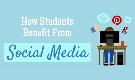 How Students Benefit From Social Media #infographic | Social Media 4 Education | Scoop.it